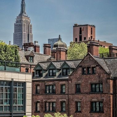 _S6A8614 View of the Empire State Bldg from the General Theological Seminary, Highline