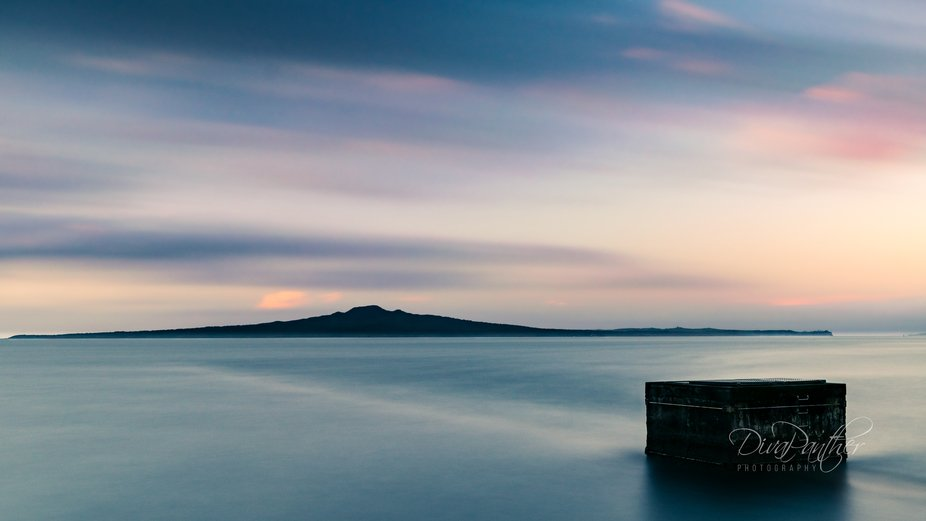 Rangitoto Long Exposure Sunset  .  Third attempt to capture this image!  Weather can be quite the...