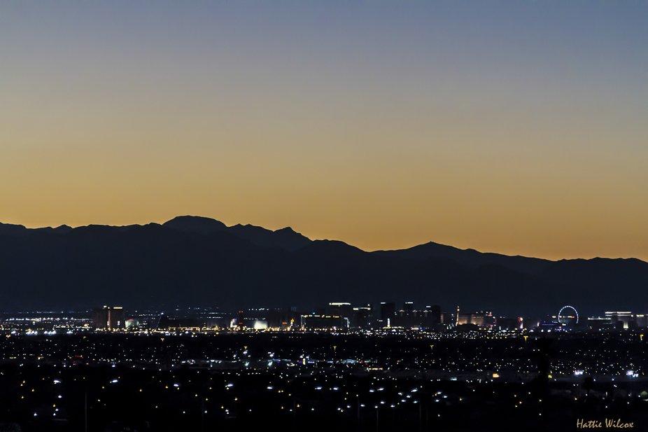 Las Vegas night 1573
