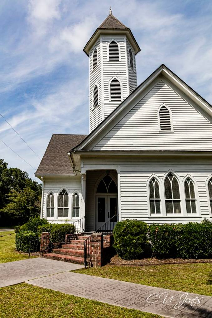 Old Church in Holly Hill