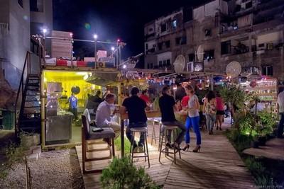 Lebanese can party anywhereThe JunkYard