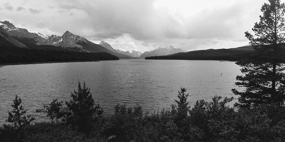 Maligne Lake Alberta