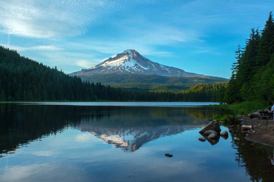 Mt Hood Reflected