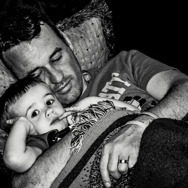 {Jax & Chris} Daddy Snuggles NW