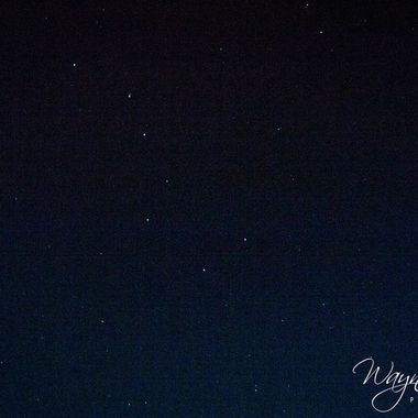 Caught the big dipper out and about.