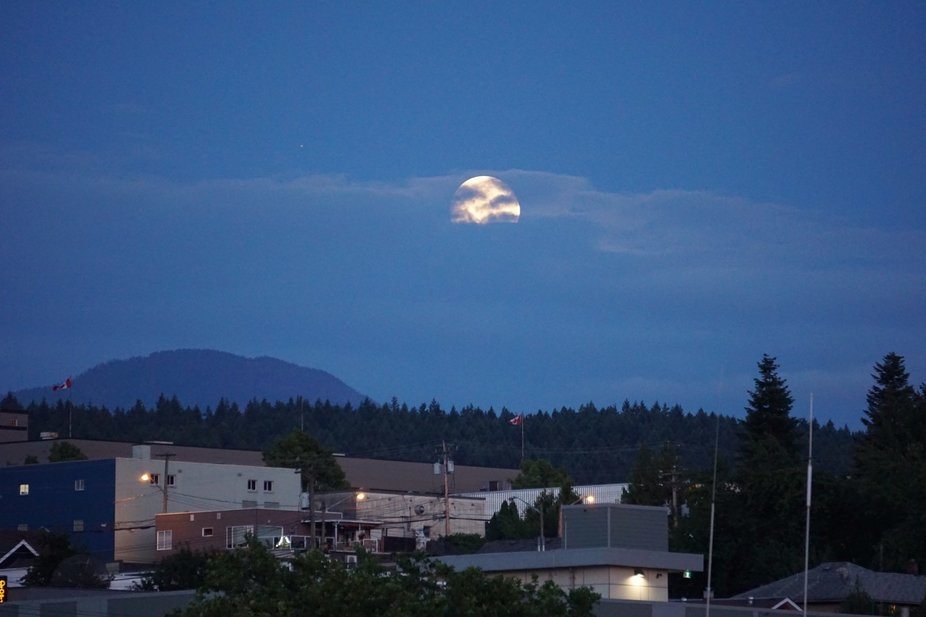Taken last night while walking at the Harbour Quay in Port Alberni.