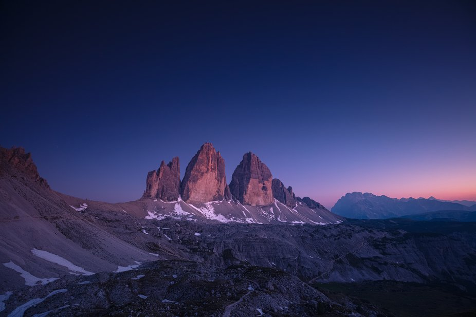 -about the shot-  I captured this shot during my first night-camp into Lavaredo's Three ...