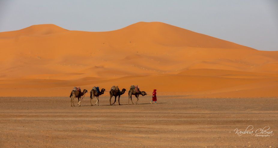 I was in the Sahara during ramadan.  It was hot and many if not all muslims were fasting.  It was...