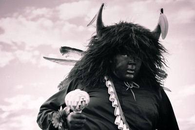 Acoma Pueblo Buffalo Dancer