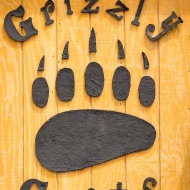 Sign for the Gift shop