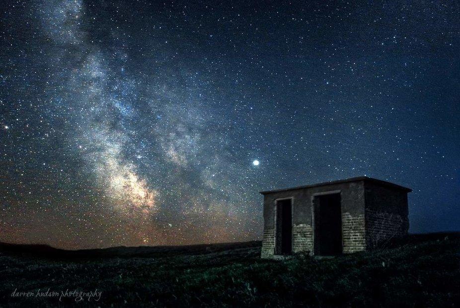 Milky way Culver cliff