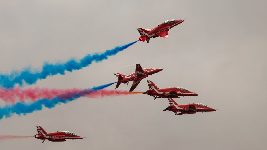Red Arrows Duxford