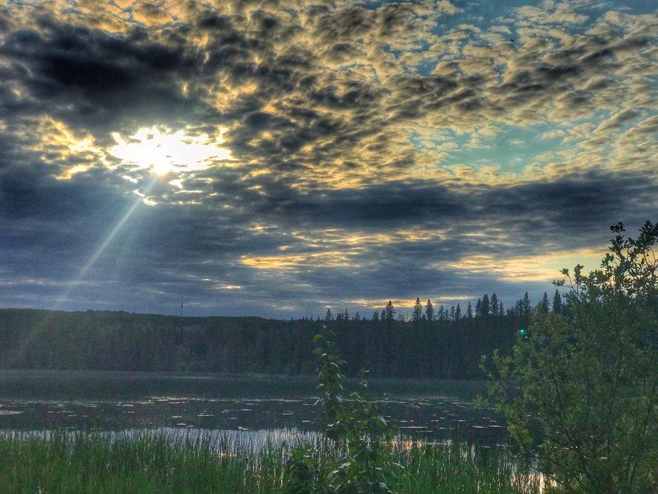 Ray of Hope...Prince Albert Natl. Park Saskatchewan