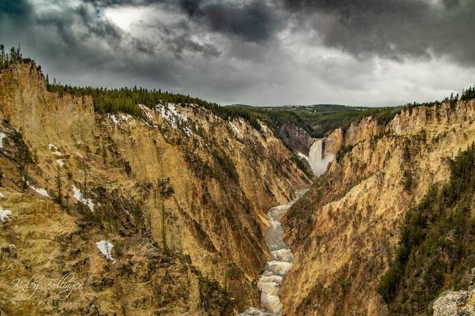 A Storm in the Canyon