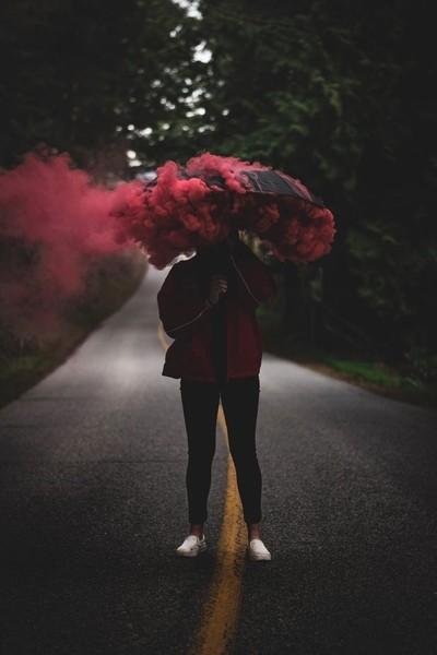 Raining smoke