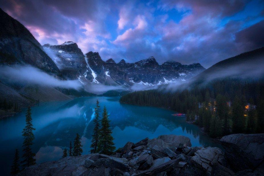 Magic of Moraine Lake