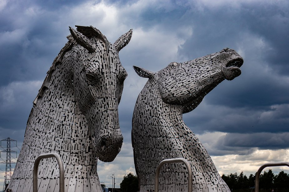 Photo was taken today 19th July 2019 on a day trip to see  the Kelpies in Falkirk Scotland