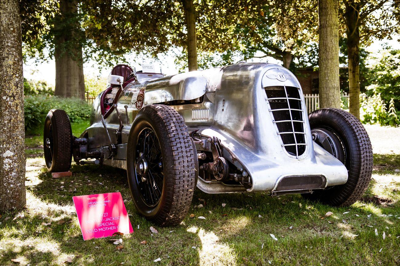 A classic 1927 Bentley-Jackson Special