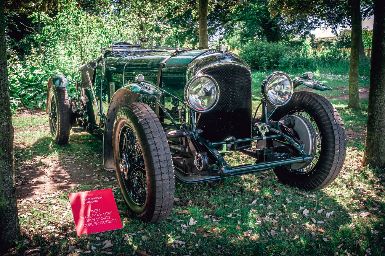 A 1930 Bentley 4 1/2 Litre Open Sports Coupe by Corsica