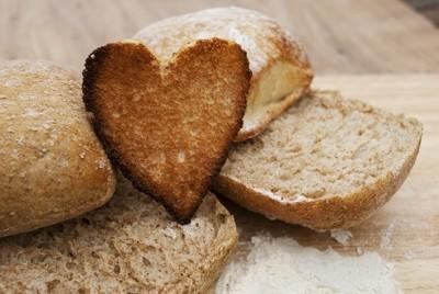 Heart crumb