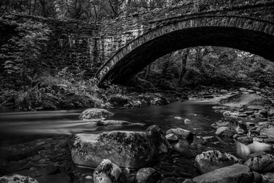 Afon Eden bridge ii