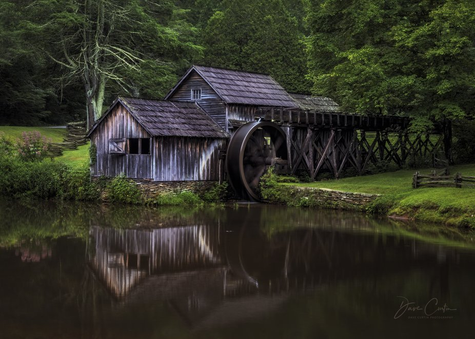 Captured in:  The Blue Ridge Mountains / Meadows of Dan, VA, Milepost 176.1.    Pictured here is ...