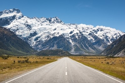 Road Trip in the Southern Alps