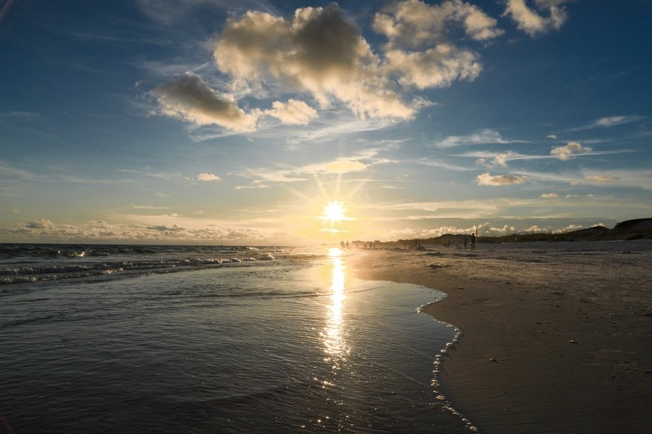 Sunset at Grayton Beach
