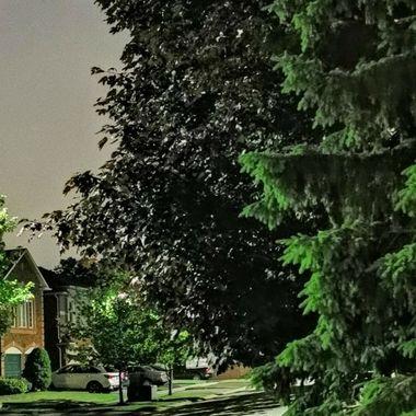 PICKERING Ontario at night LED lighting looks like daylight