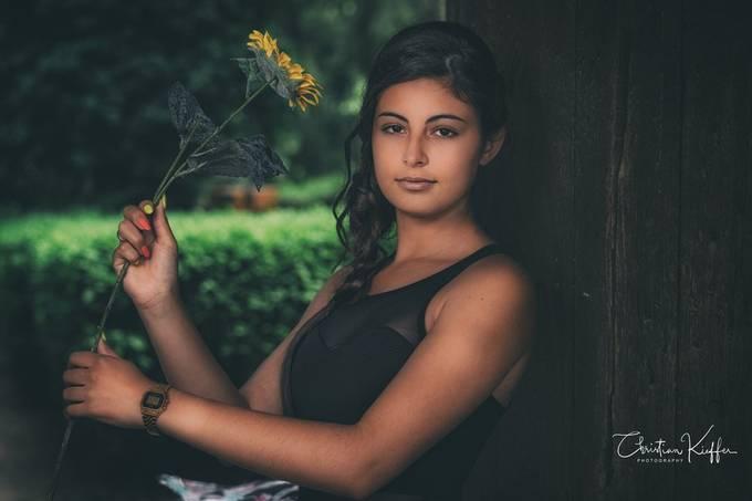 Summer shooting with Lara