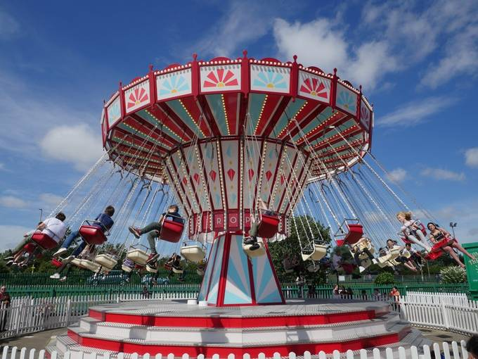 Thr Chairoplane at Butlins Skegness