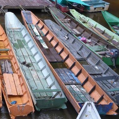 Borneo boats.
