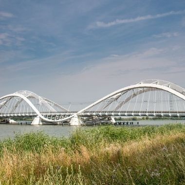 Enneus Heerma bridge, Amsterdam, IJburg