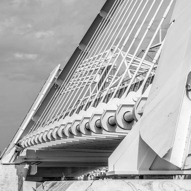 Bridge in Amsterdam to IJburg