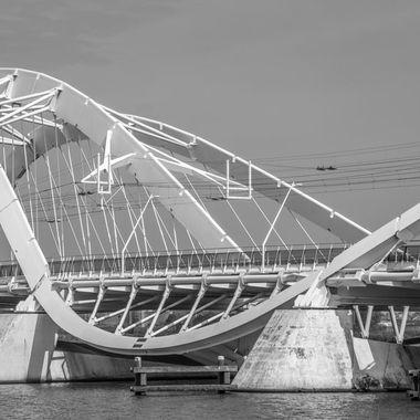 Enneus Heerma bridge, IJburg, Amsterdam