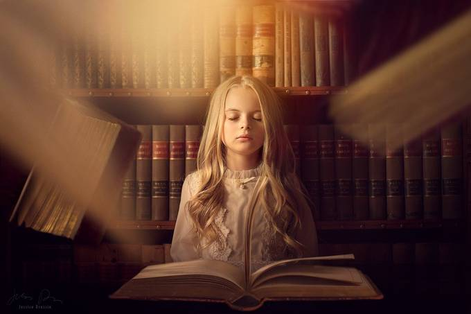 Conjuring Eyes Shut by JessicaDrossin - Magazines And Books Photo Contest