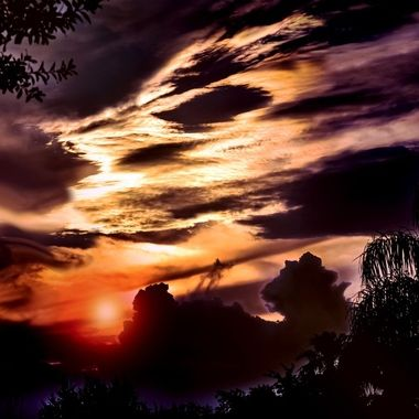 The Rise of the Lion Sunset NW