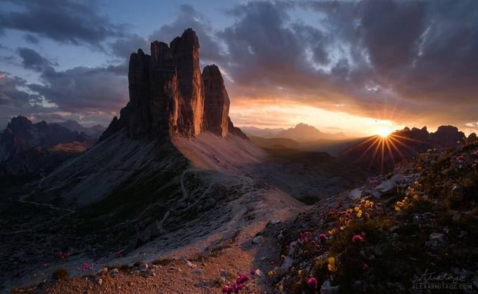 Natures Gift to the World, Tre Cime di Lavaredo by alexarmitage - Game Of Flares Photo Contest