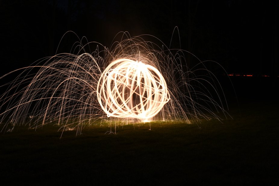 This was done using steel wool.
