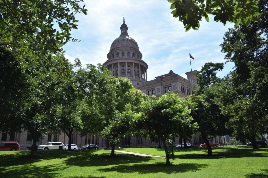 Capital building in Austin, TX