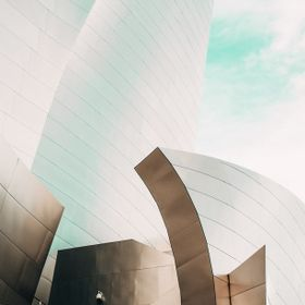 The Walt Disney Concert Hall at 111 South Grand Avenue in downtown Los Angeles, California, is the fourth hall of the Los Angeles Music Center an...