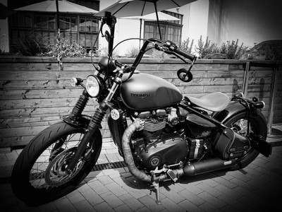 Bobber by Triumph.