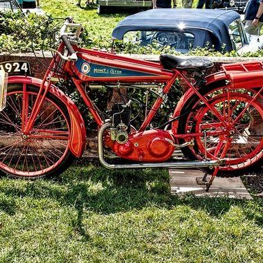 1924 Monet Goyon S3 175cc Motorcycle