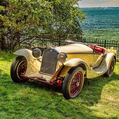 1933 Alfa Romeo 8C2300 Corto Spider