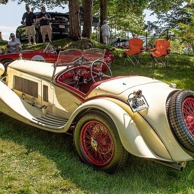 1933 Alfa Romeo 8CC 2300 Corto Spider