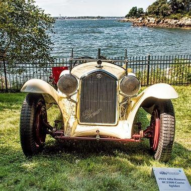 1933 Alpha Romeo 8C 2300 Corto Spider