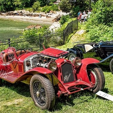 1932 Alfa Romeo 8C 2300 Corsa Spider & a  1935 Triumph Southern Cross