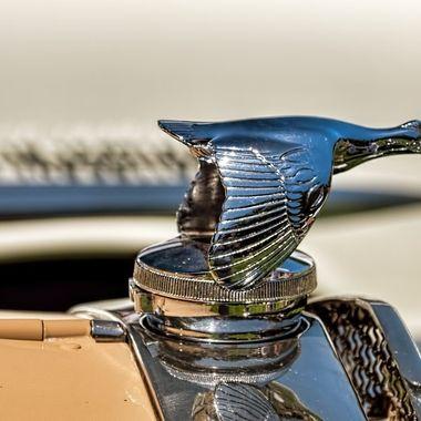 Ford hood ornament.