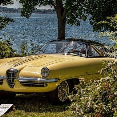 1955 Alfa Romeo 1900 SS Speciale by Boano.