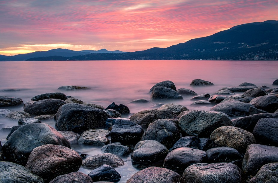 Third Beach, Vancouver, BC, Canada - July 2019